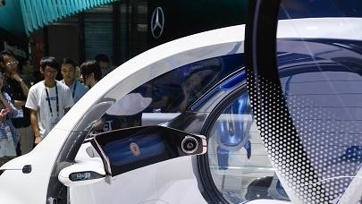 上海成自动驾驶技术大秀场 消费电子展黑科技频出