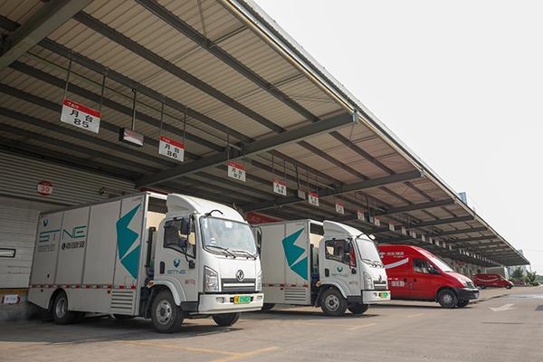 超过150辆氢能源物流车,在京东物流正式常态化运营,助力618.jpg