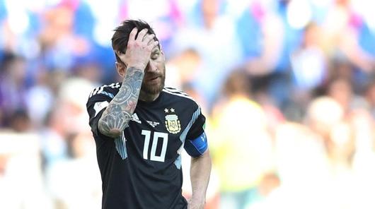 """""""史上最佳""""压垮梅西 阿根廷队被冰岛逼平"""