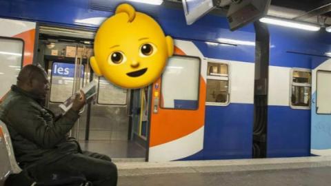 婴儿在法国火车上呱呱坠地,25岁前车票全免