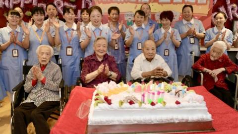 杨浦区的这家养老院,90岁以上老人竟超200位!