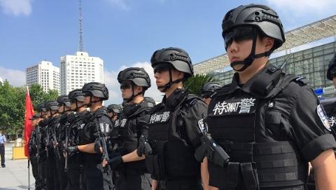 新时代新作为新篇章丨上海铁路警方首支专业反恐精锐队伍成立