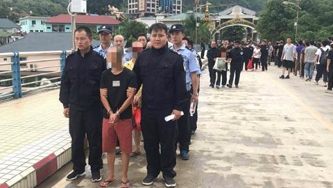 上海警方成功破获跨境电信网络诈骗案  6名犯罪嫌疑人被押解入境并移交