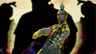 """黄豆豆《秦俑魂》""""就地取材"""" 向世界播撒中国舞的种子"""
