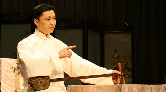名人堂丨上海评弹团团长高博文:说书先生也迷球
