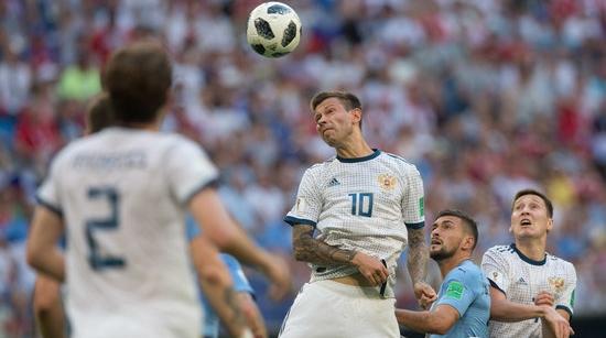 乌拉圭人将俄罗斯队从幻想中拉了回来