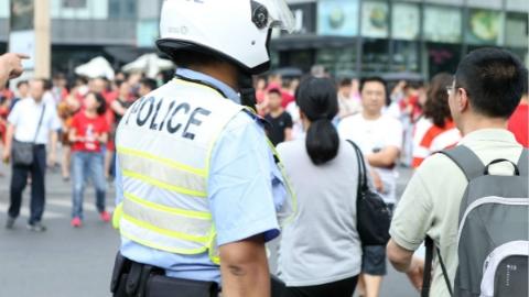 上海警方强化夏季社会治安防控 重点守护轨交、商圈、学校等区域