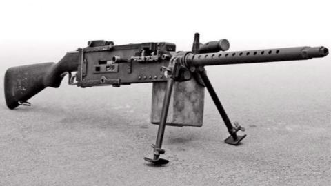 """""""土造机枪""""帮美军制胜硫磺岛"""