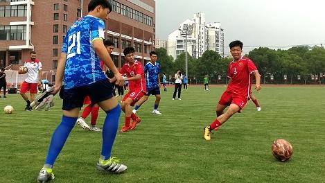 国际青少年校园足球邀请赛本周日在沪开赛 朱广沪率中国高中联队首次参赛