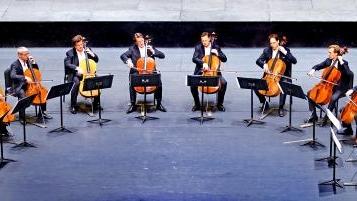 刷新你对大提琴的所有想象,柏林爱乐12把大提琴乐团昨晚梦幻上演