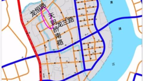 徐汇这条新建道路,规划红线有调整