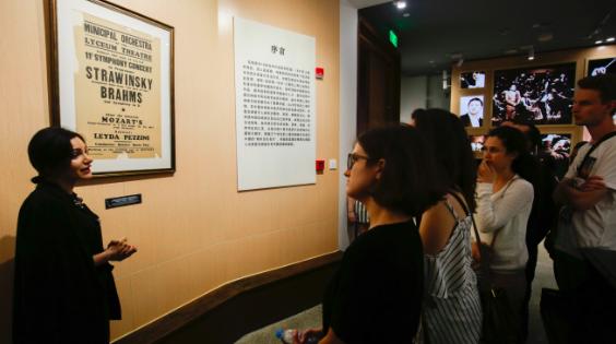 重走上海交响乐之路,欧盟青年乐手惊叹:这座城市真潮