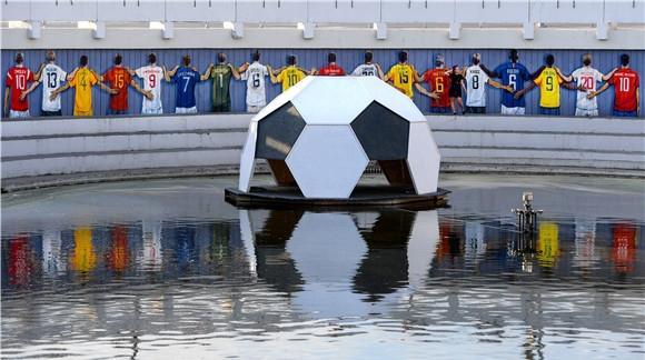在喀山,所有人都可以从足球里找到真正的快乐