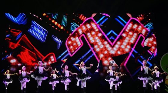 """能跳爵士舞能打小怪兽,""""舞动中国梦""""舞出童真童趣"""