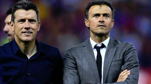 恩里克出任西班牙队主帅 世界杯成教练分叉路