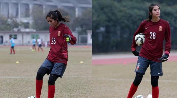 名人堂|中国女足现役门将赵丽娜:期待大家关注明年的女足世界杯