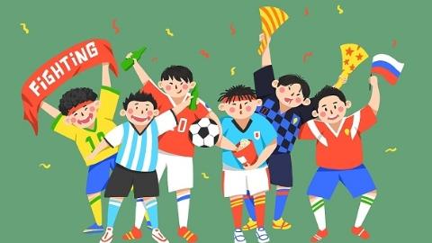 """世界杯观赛众生相:高清大屏、啤酒龙虾、午夜狂欢……压不住的""""洪荒之力"""""""