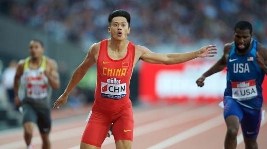 谢震业勇夺田径世界杯200米冠军