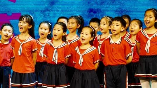 首届上海保利大剧院童声合唱节开幕:童声 清澈 回荡