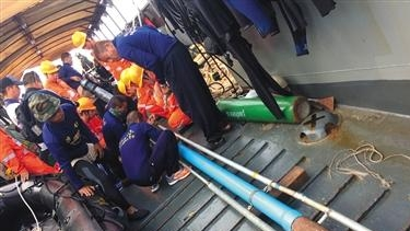 泰国沉船船主与工程师被批捕