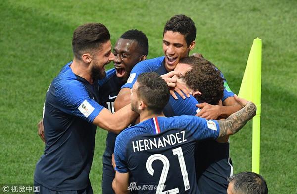 梦回1998!法国队时隔20年再夺世界杯!