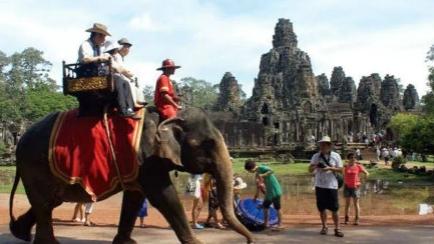 5年来旅游业为柬埔寨创收151亿美元