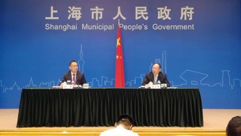 """上海公布上半年经济""""成绩单"""""""