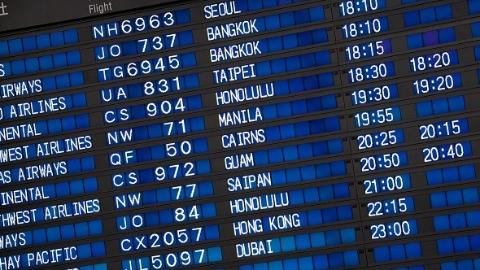 2018全球民航准点率半年报:虹桥与浦东机场准点率提升超20%以上