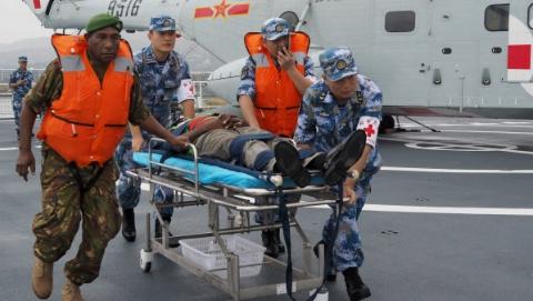 中巴新首次举行联合应急医学救援演练