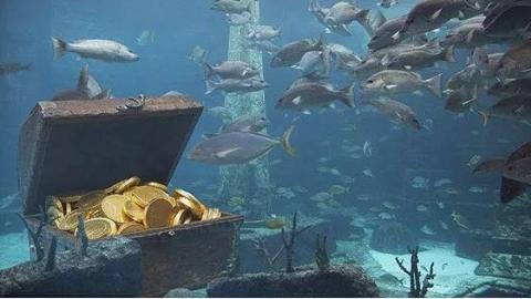 韩国发现一艘百年前满载200吨黄金的沉船