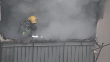 杨浦区一民宅突发火灾 所幸没有人员伤亡