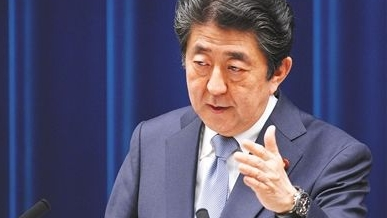 日本首相安倍晋三暗示下月宣布参选自民党总裁