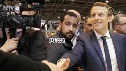 法国总统保镖因冒充警察殴打示威者被拘留