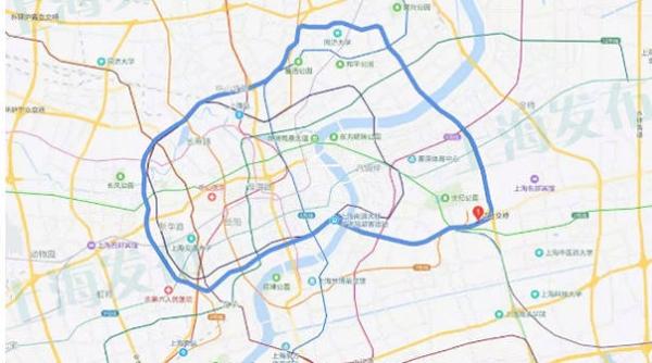 内环、延安、沪闵高架部分路段综合整治开工!