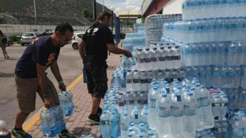 中国心,希腊情!旅希华人援手相助受灾民众