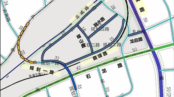 上海南站地区将新建3条道路,出行更方便!快来看地图!