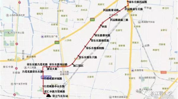 出行更方便!松江54路公交本月8日开始运营