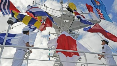 中国海军和平方舟再抵斐济进行友好访问