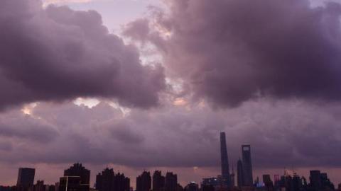 """防御台风""""云雀"""" 浦东新区全区应转移人员全部撤离"""