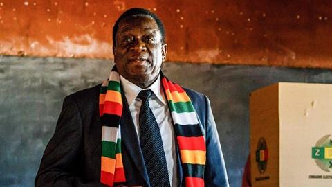 津巴布韦大选结果公布:现任总统姆南加古瓦胜选