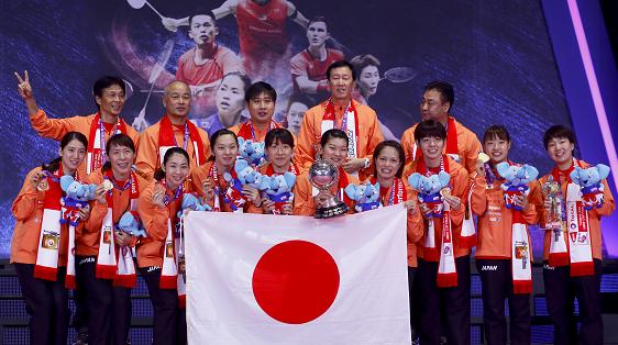 日本羽毛球崛起 世界羽坛进入中日对决格局