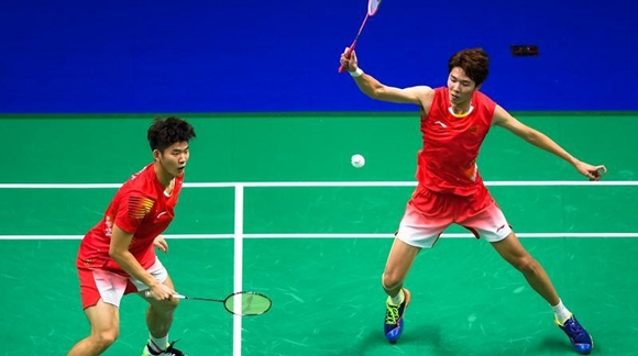 男双组合收获冠军 国羽世锦赛赢得两金
