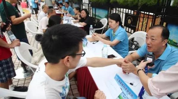 8月8日,沪100个监测点免费提供体质监测服务!