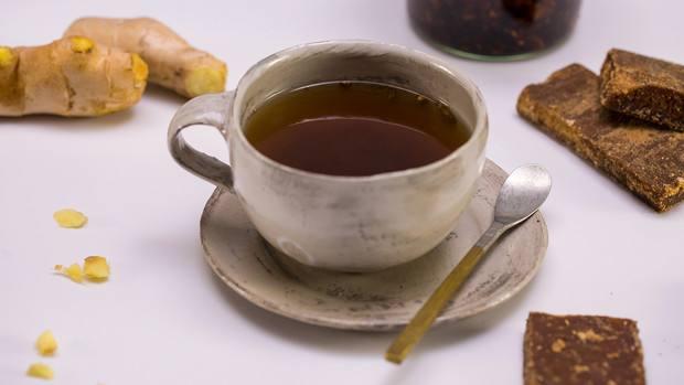 婆婆的伏姜茶