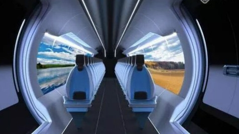 """西班牙将建""""地面飞机"""" 时速达1200公里"""