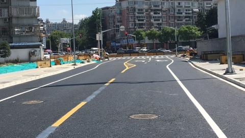 对接嘉定:普陀区今年首条断头道路提前3个月打通