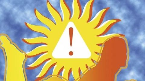 不是高温但湿度大也需防范中暑