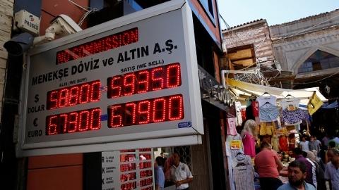 美国对土耳其钢铝关税翻倍再度重挫里拉