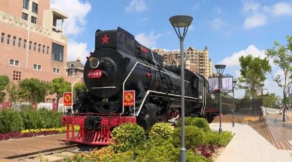 海湾镇有个火车头公园,未来五年百座公园覆盖奉贤