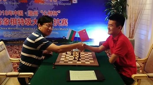 3比1战胜前国际棋象世界冠军 丁立人国际等级分首破2800分